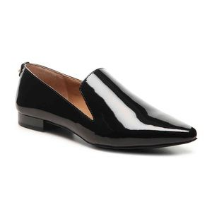 Calvin Klein Elin Patent Leather Loafer Flats